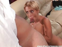 Big dick slowly slides into hot wife ass tubes