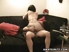 Amateur girlfriend toys and anal fuck with cumshot tubes