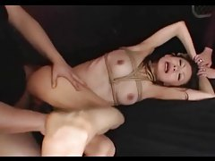Dominated Asian Gets A Creampie tubes