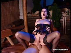 Seductive milf in stockings gets her hot ass fucked tubes