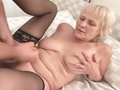 Cock hungry granny in stockings ravaged raw tubes