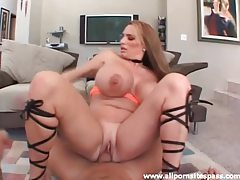 Huge tits curvy girl laid by a hard cock tubes