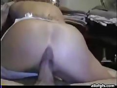 Tramp stamp GF fucked in her tight ass tubes