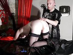french libertine submissive in caning session bdsm tubes