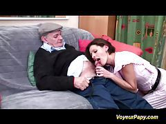 Papy and a friend fucking hard tubes