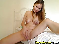 Euro Hot Busty Babe Masturbating HD tubes