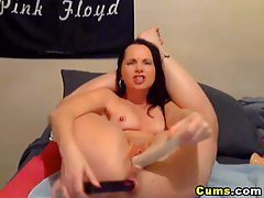 Double Dildo Penetration Made her Squirt HD tubes