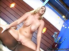 Curvy beauty is all over that big black cock tubes