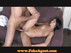 FakeAgent Elegant amateur takes first time creampie tubes