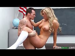 California blonde fucked by her teacher tubes