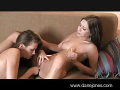 DaneJones Beautiful young women surprise lesbian sex tubes