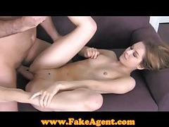 FakeAgent Amazingly hot model in casting tubes