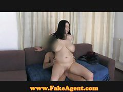 FakeAgent Huge natural tits get fucked tubes