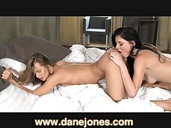 DaneJones Amazing young women making love tubes