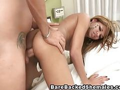 Hot Shemale Slut Pounded and Jizzed tubes