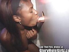Cute ebony Adria with a tongue ring an knows how to work it tubes