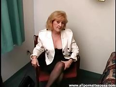 Cute blonde mature strips in the hotel room tubes