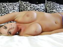 Blonde Jeska Marie is a near perfect beauty tubes