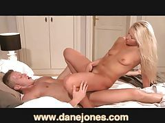 DaneJones Super hot blonde wriggling in passion tubes