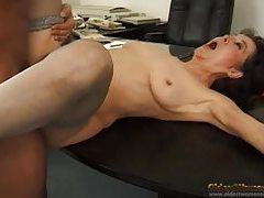 Cumshot glazes mature tits after good sex tubes