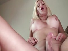 POV bareback anal with hot busty shemale tubes