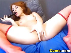 HOT Redhead Hardcore Pussy and Ass Penetration HD tubes