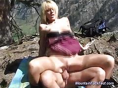 Mountain fuck fest blonde sex tubes