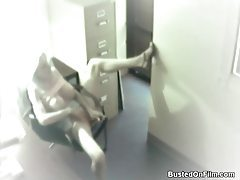 Blonde thinks she is alone and masturbates tubes