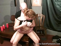 She Gets Heavenly Blowjob and Rides Cock tubes