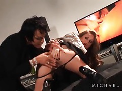 Lesbian ass spanked and hot cunt fingered tubes