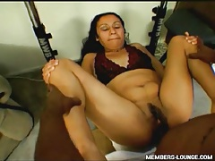 Huge black dick fucks Indian pussy hardcore tube