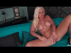 Chloe the big fake tits girl masturbates tubes