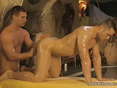 Anal Massage Stimulation by Gay tubes