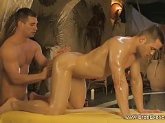 Anal Massage Stimulation by Gay tubes