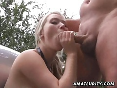 Amateur girlfriend facial cumshot after outdoor fuck tubes