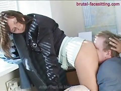 Office women want their asses rimmed out tubes