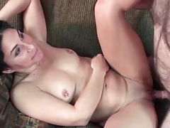 Amateur missionary sex in her shaved pussy tubes