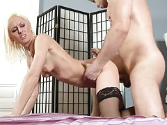 Dirty milf rough fuck and facial tubes