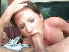 Wet gagging head for his big cock tubes