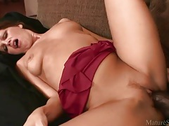 Milf in a knockout dress fucked by monster cock tubes