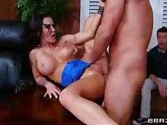 Slut wife cuckolds husband with a big cock stud tubes