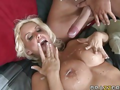Nice set of tits on this fuckable blonde milf tubes