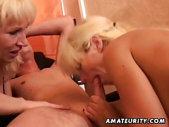 Amateur homemade threesome hardcore action tubes