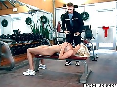 Trainer gets to see Puma Swede naked tubes