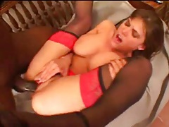 Flexible milf loves thickness of big black cock tubes