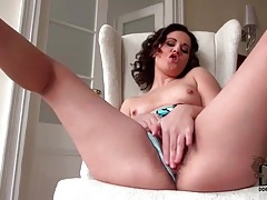Nice curly hair on the POV cocksucker tubes