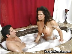 Bubble bath hardcore with Teri Weigel tubes