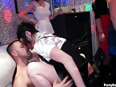 Hottest club party ever with foreplay and fucking tubes