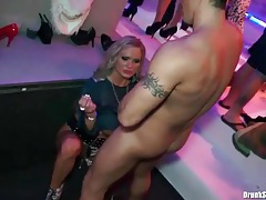 Big titty chick on couch at club fucked hard tubes
