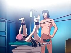 Kinky enema and naughty play with hentai girl tubes